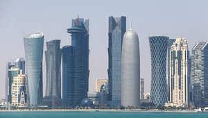 منظر عام للعاصمة القطرية، الدوحة