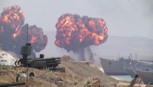 روسيا تجري مناورات عسكرية واسعة في القرم