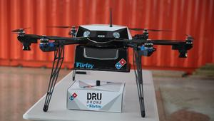 هل ستوصل طائرة آلية البيتزا لأبواب محبيها؟