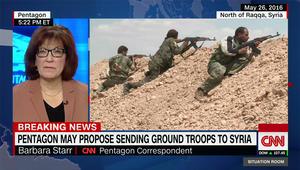مسؤولون لـCNN: البنتاغون يبحث إرسال قوة برية تقليدية لسوريا