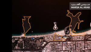 مجسم المشروع السياحي