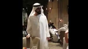 """بالفيديو.. """"ممازحة"""" حاكم دبي للفنانة غادة عبد الرازق تغزو مواقع التواص"""