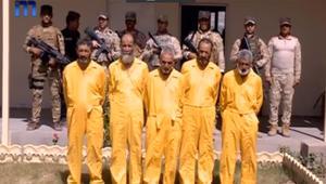 """بالفيديو.. """"وجهاء الفتنة"""" بالفلوجة ممن تعاونوا مع داعش في قبضة القوات العراقية بعد محاولة تسلل"""