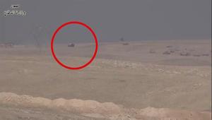 الدفاع العراقية تنشر فيديو لمحاولات اقتحام داعش الانتحارية والتصدي لهم