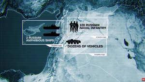 هذا ما رصدته واشنطن بعد رسوّ سفينتين روسيتين في سوريا.. ومسؤول استخباراتي سابق لـCNN: إقدام موسكو على القتال سيغير كل الحسابات