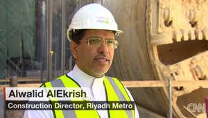 الوليد العكرش لـCNN: مترو الرياض أحد أكبر المشروعات في العالم بقيمة 24 مليار دولار