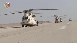 """عملية """"سيناء 2018"""": تدمير 66 هدفا لإرهابيين والقضاء على 16 تكفيريا"""