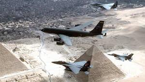 """مصر تعلن نهاية أكتوبر موعداً لاستلام 4 مقاتلات """"إف – 16"""""""