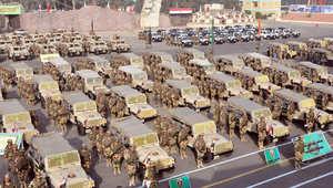 """بالصور.. جيش مصر ينشر 160 ألف """"مقاتل"""" في 13 محافظة"""