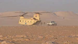 """جيش مصر يؤكد مقتل 10 """"إرهابيين"""" وإنقاذ 20 سائحاً من الغرق"""