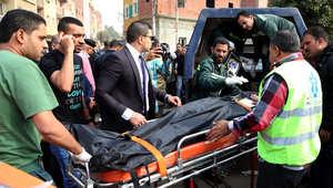 بالصور.. 4 قتلى في هجوم على سيارة شرطة غرب القاهرة
