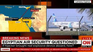 """القاهرة تكشف اسم خاطف الطائرة المصرية وجنسيته وقبرص تصف الحادثة بـ""""غير المسبوقة"""" وتربطها بطليقته"""