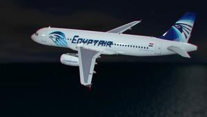 بالفيديو: اللحظات الأخيرة للطائرة المصرية
