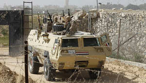 مصر: 11 قتيلاً في تفجير مدرعة أمنية بسيناء ومصرع 9 في تدافع بمعهد عسكري بالشرقية