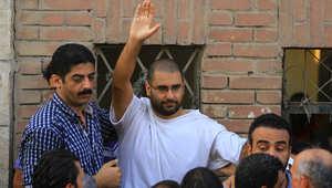 """مصر.. النقض تؤيد """"حبس"""" علاء عبدالفتاح بقضية إحراق المقر الانتخابي لشفيق"""