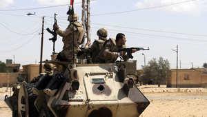 """مصر.. هجوم جديد على كمين أمني بشمال سيناء وأنباء عن مقتل """"تكفيريين"""""""