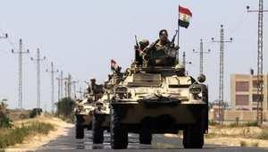 مصر.. إحباط تفجير نقطة أمنية ومقتل 16 مسلحاً في حملات للجيش بشمال سيناء