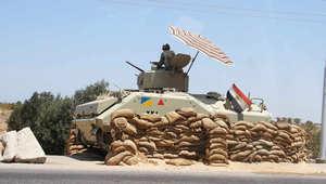 """مصر.. مقتل رقيب بالجيش و""""تكفيري"""" وضبط 20 مشتبهاً في حملة أمنية بسيناء"""