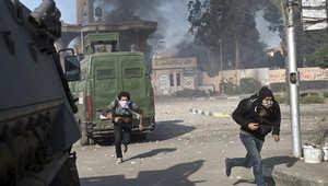 """مقتل شرطي بـ""""هجوم مكرر"""" وإحراق مقر انتخابي للسيسي بالشرقية"""