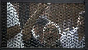 """حكم جديد بإعدام بديع و13 إخوانياً بقضية """"مسجد الاستقامة"""""""