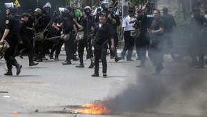 """مواجهات بين الأمن وأنصار """"الإخوان"""" ولا أنباء عن ضحايا"""
