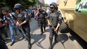 """مصر.. مقتل """"تكفيريين"""" وشرطي وجرح 16 بهجمات وتفجيرات استهدفت نقاط أمنية وقطار للركاب"""