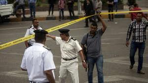 """مقتل شرطيين بالمنيا وانفجار بجامعة """"عين شمس"""""""