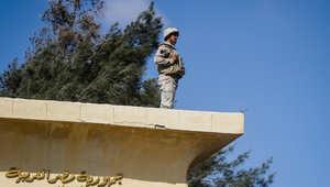 """مقتل جندي و6 """"تكفيريين"""" وتدمير موقع لـ""""أنصار بيت المقدس"""" بسيناء"""