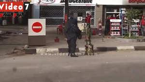 """بالفيديو من مصر.. مقتل """"خبير مفرقعات"""" أثناء تفكيك عبوة ناسفة بشارع الهرم"""