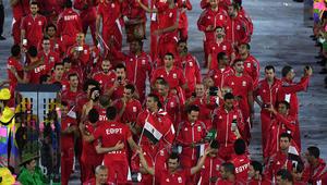 """الرامي المصري """"حمادة"""" حامل العلم السعودي يودع الأولمبياد"""