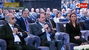 السيسي للمصريين حول قضية استيراد الغاز من إسرائيل: جبنا جول جامد جداً