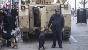 صورة ارشيفية لعناصر أمن عراقية في القاهرة