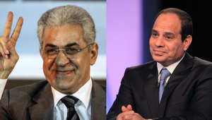 السيسي وصباحي المرشحان لانتخابات رئاسة الجمهزورية في مصر