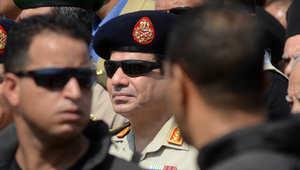 وزير الدفاع المصري الجنرال عبد الفتاح السيسي