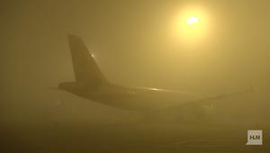 موجة ضباب تلغي رحلات آلاف المسافرين في الصين