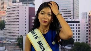 والدها هندي وفازت بلقب ملكة جمال اليابان