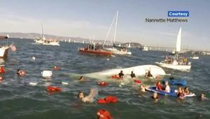 إصابات بانقلاب قارب في سان فرانسيسكو