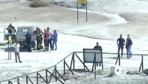 شاهد.. وفاة طفل إثر سقوطه بفوهة بركانية في إيطاليا