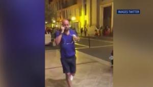 شاهد.. لحظة هروب الحشود بعد حادث دهس بشاحنة في مدينة نيس الفرنسية أسفر عن عشرات القتلى