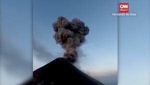 """وسائل التواصل """"تثور"""" مع """"عودة"""" بركان غواتيمالا إلى الحياة"""
