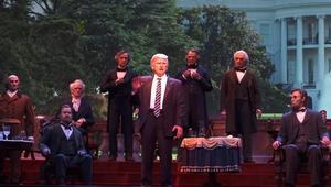 ديزني تكشف عن الرئيس ترامب الآلي
