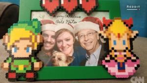 هذه المرأة حصلت على هدية عيد الميلاد.. وهي من بيل غيتس!