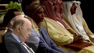 وزير ترامب يأخذ قيلولة خلال خطاب الرئيس!