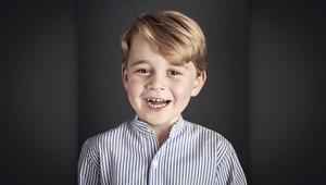 الأمير جورج يحتفل بعيد ميلاده الرابع بصورة جديدة
