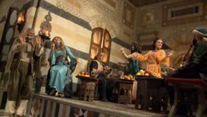الممثلة السورية صباح بركات.. وجهان مختلفان للمرأة الشامية في رمضان