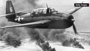 العثور على طائرة من الحرب العالمية الثانية