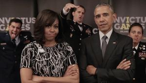 شاهد.. أوباما وميشيل يتحديان هاري.. والأمير يستعين بالملكة إليزابيث