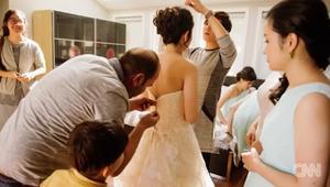 خياط سوري لاجئ ينقذ حفل زفاف
