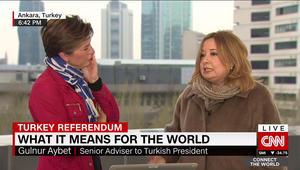 مستشارة أردوغان تبين لـCNN حاجة تركيا للتعديل الدستوري