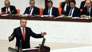 """أردوغان: رحيل الأسد.. محاربة """"داعش"""".. وحدة أراضي سوريا أبرز أولويات تركيا"""